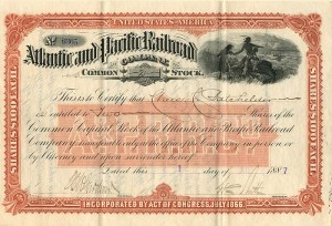 Atlantic and Pacific Railroad Company - SOLD
