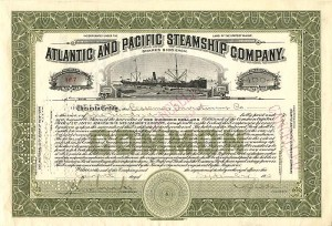 Atlantic and Pacific Steamship Company - SOLD