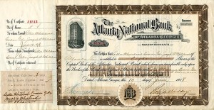 Atlanta National Bank - SOLD