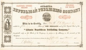 Atlanta Republican Publishing Company - SOLD