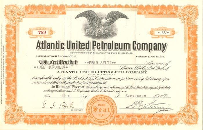 Atlantic United Petroleum Company