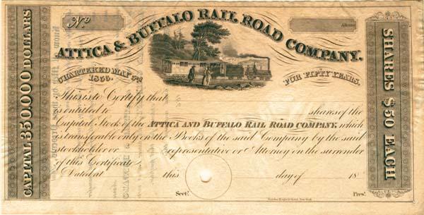 Attica /& Buffalo Railroad