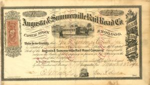 Augusta & Summerville Rail Road Co.