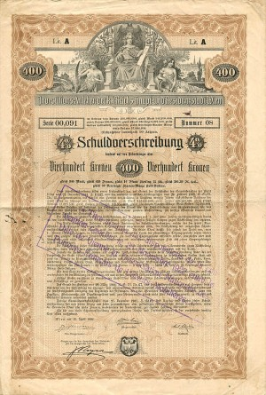 400 Crowns Austrian Bond