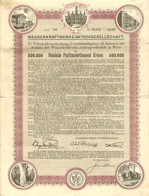 50 or 500 Thousand Crowns Austrian Bond