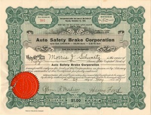 Auto Safety Brake Corporation