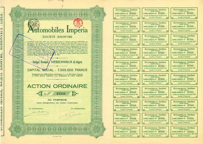 Automobiles Imperia Societe Anonyme