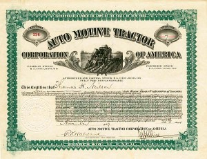 Auto Motive Tractor Corporation of America