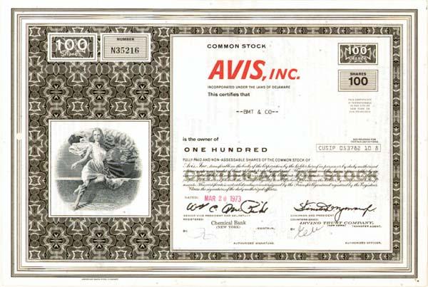 Avis, Inc