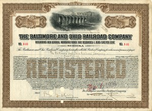 $5 Million Baltimore and Ohio Railroad Company