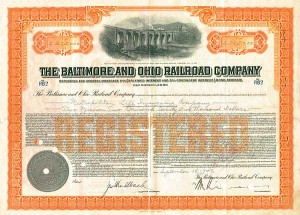 Baltimore & Ohio $2,275,000 Bond