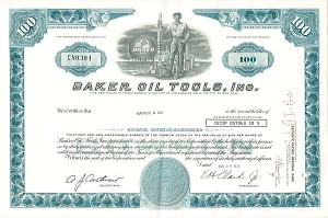 Baker Oil Tools, Inc - SOLD
