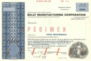 Bally Manufacturing Corporation