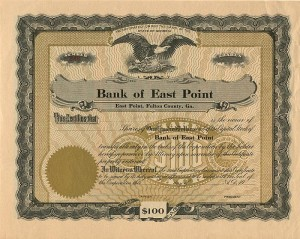 Bank of East Point