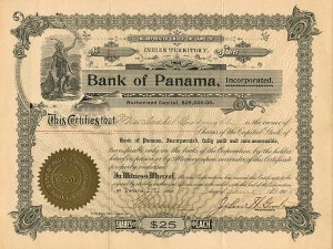 Bank of Panama, Incorporated - SOLD