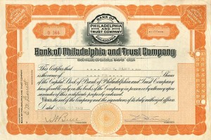 Bank of Philadelphia and Trust Company