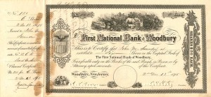 First National Bank of Woodbury