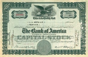 Bank of America National Association - SOLD