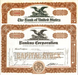 Bank of the United States & Bankus Corporation