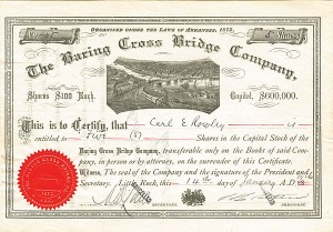 Baring Cross Bridge Company