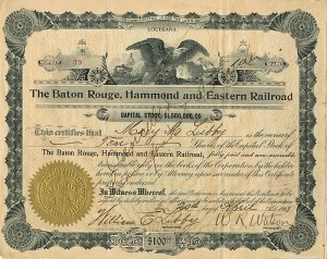 Baton Rouge, Hammond and Eastern Railroad