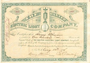 Baxter Electric Light Company