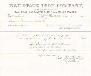 Bay State Iron Company - SOLD