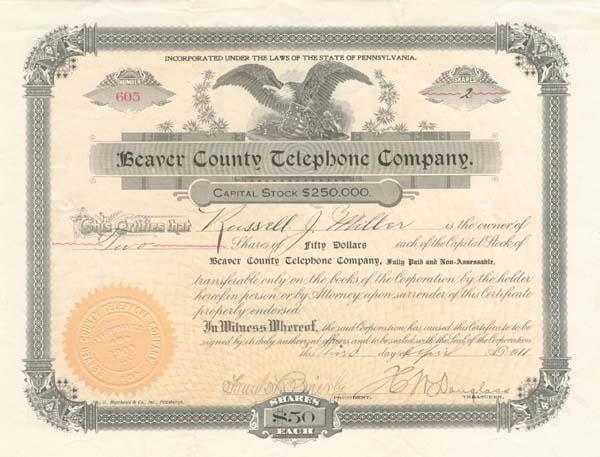 Beaver County Telephone Company