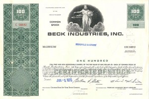 Beck Industries, Inc.