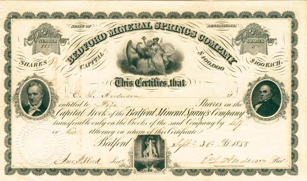 Bedford Mineral Springs Company