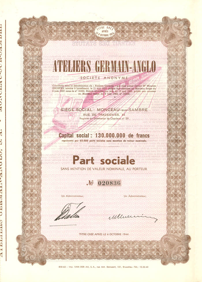 Ateliers Germain-Anglo