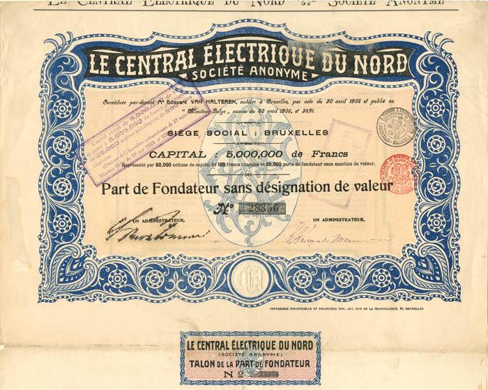 Le Central Electrique du Nord