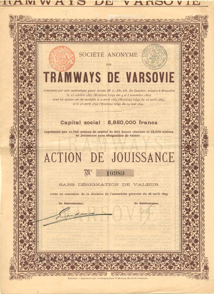 Tramways de Varsovie