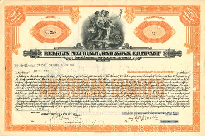Belgian National Railways Company