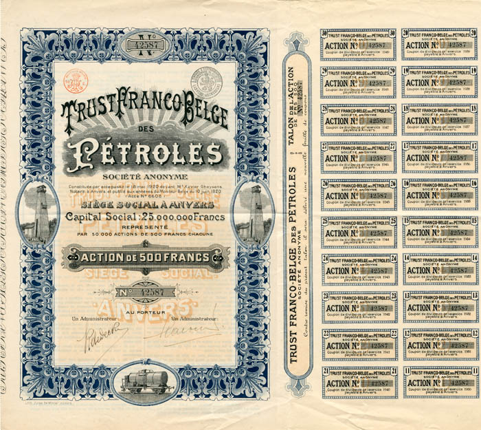 Trust Franco Belge des Petroles
