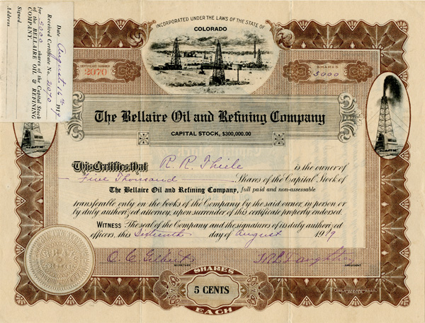 Bellaire Oil and Refining Company