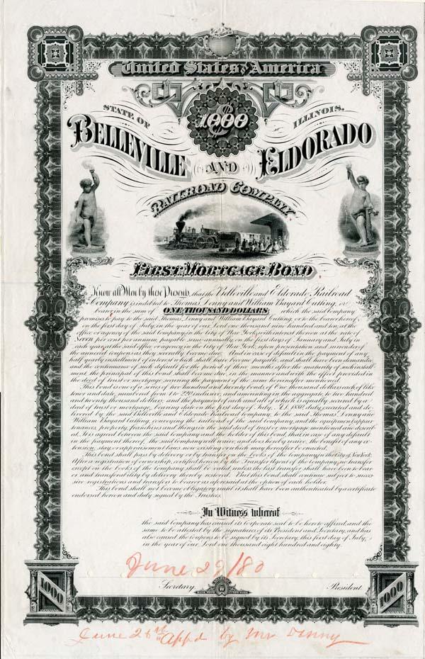 Belleville and Eldorado Railroad Company