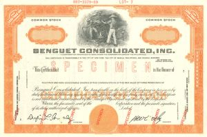 Benguet Consolidated, Inc