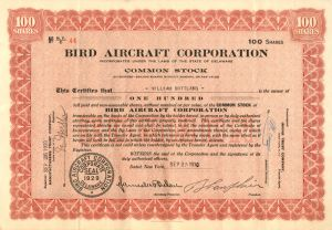 Bird Aircraft Corporation