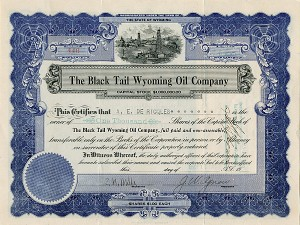 Black Tail Wyoming Oil Company