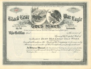 Black Bear-War Eagle Gold Mines, Incorporated