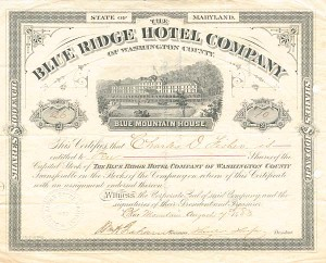 Blue Ridge Hotel Company - SOLD