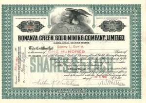 Bonanza Creek Gold Mining Company, Limited
