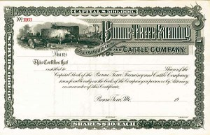 Bonne-Terre Farming & Cattle Company - SOLD