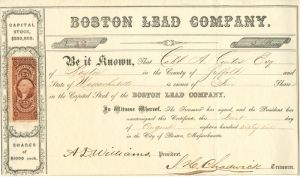 Boston Lead Company
