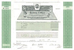 Boston Celtics - SOLD