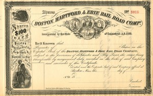 Boston, Hartford, & Erie Rail Road Company