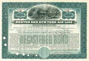 Boston & New York Air Line Railroad - SOLD