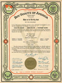 Boy Scouts of America - SOLD