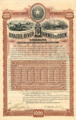 Brazos River Channel and Dock Company